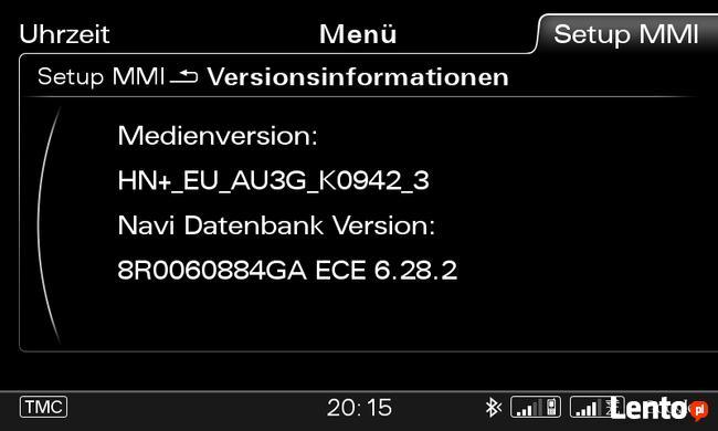 Aktualizacja nawigacji GPS Audi Volkswagen Skoda Seat