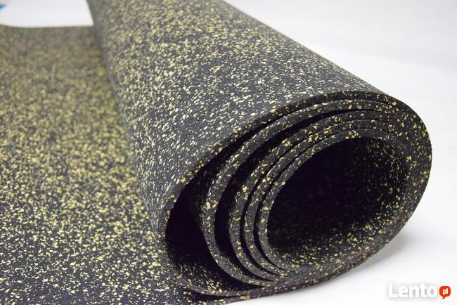 Mat aw rolce gumowa SBR nakrapiana EPDM 10mm mix kolor