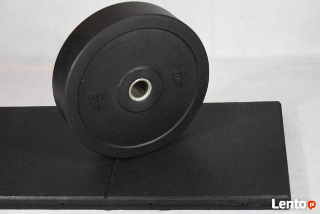 Płyty pod cięzary podesty gumowe SBR 4.5 cm fitnes