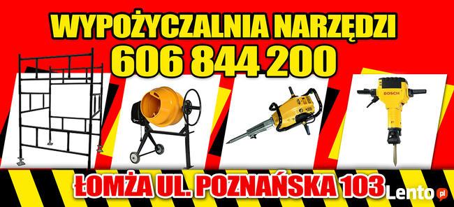 Wypożyczalnia WERTYKULATOR Oleo Mac Łomża Eko Park