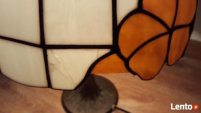 Piękna lampka nocna - witraż