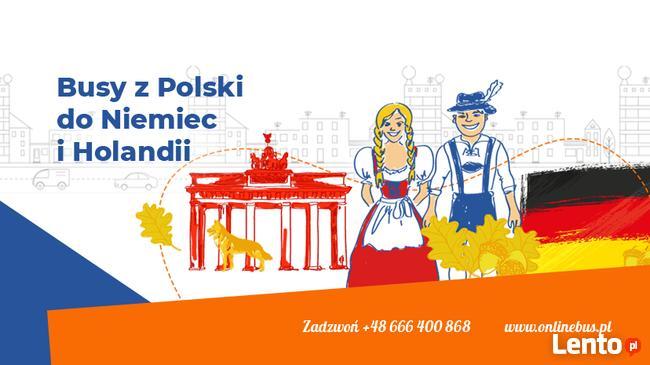 OnlineBus.pl CODZIENNIE! TANIO! KOMFORTOWO! od 50€