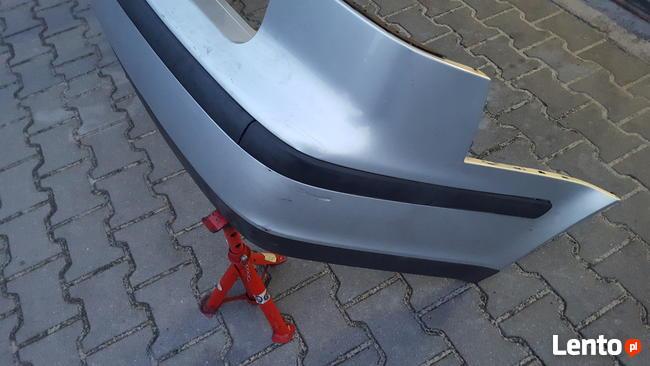 Zderzak tylny tył Saab 9-5 srebrny przedlift 1gen 1999 rok