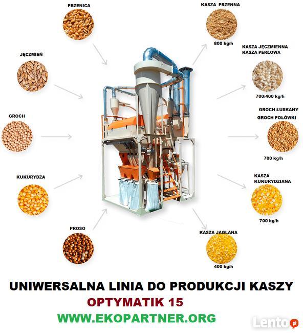 Kompletna Uniwersalna Linia do produkcji KASZY - OPTIMATIK