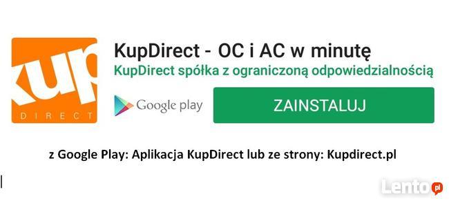 Aplikacja OC/AC w minutę