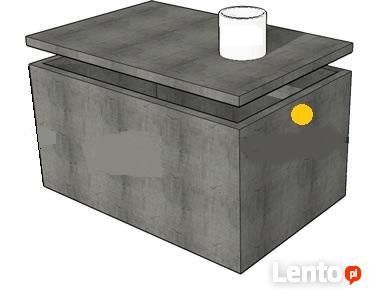Piwniczki szamba betonowe szambo zbiorniki na deszczówkę 12m