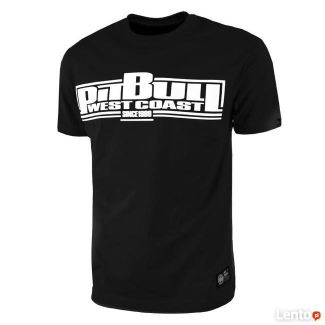 Pit bull t-shirt koszulka CLASSIC BOXING czarna