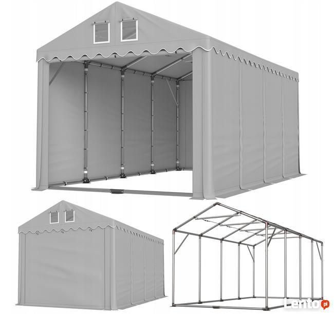 Namiot PRESTIGE 4x8-4m magazynowy HALA PRZEMYSŁOWA magazyn