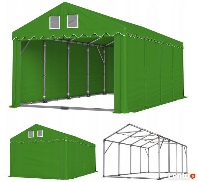 Namiot PRESTIGE 4x8-2,6m magazynowy handlowy wiata garaż