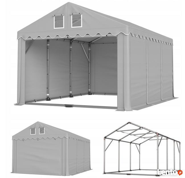 Namiot PRESTIGE 4x6-3m magazynowy handlowy wiata garaż