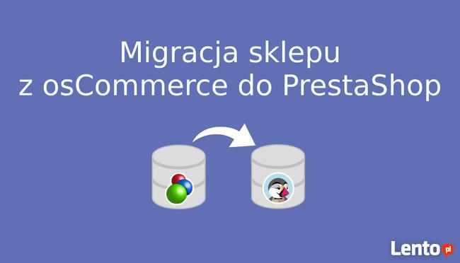 Migracja sklepu internetowego z osCommerce do PrestaShop
