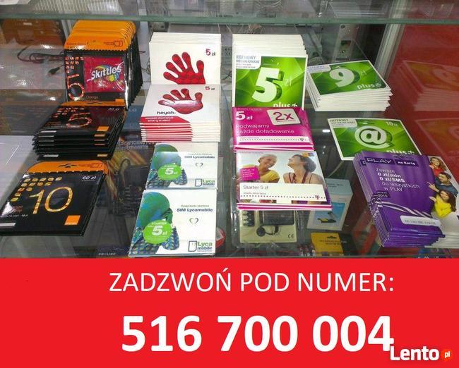 Karty SIM zarejestrowane i aktywne startery telefoniczne