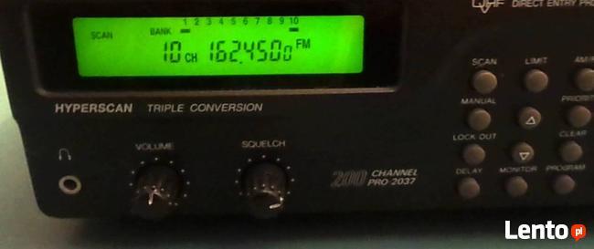 skaner nasłuchowy model PRO-2037