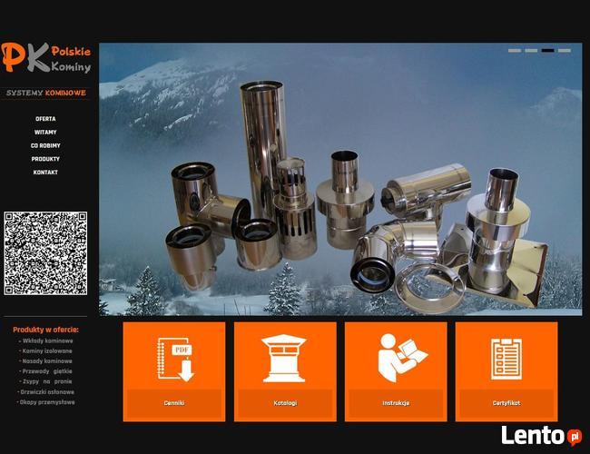 Kominy Koncentryczne (Współosiowe) fi80/125 gr.0,5mm do gazu