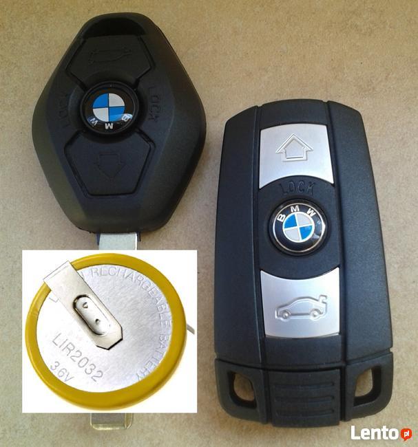 Kluczyk BMW - naprawa (wymiana) baterii (akumlatorka)