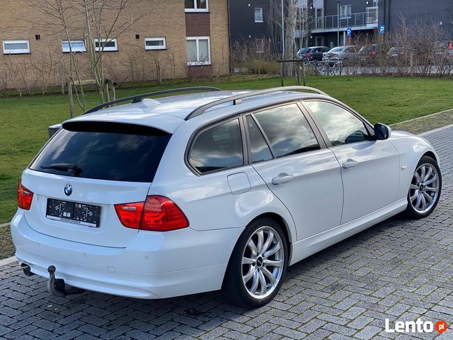 Luksusowe BMW serii 3 biała perła, skóry ecru, automat Piękna