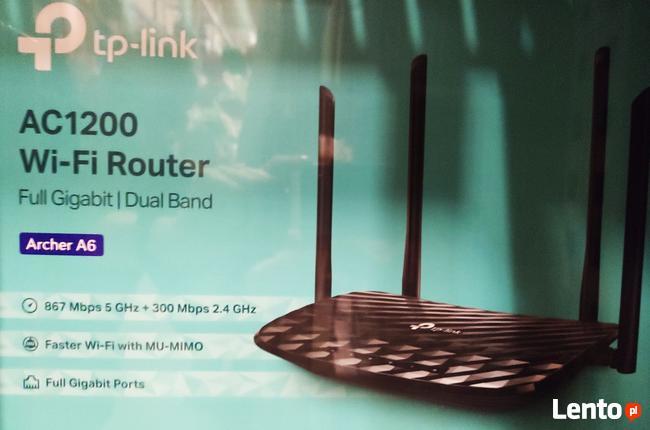 Router TP link model Archer A6