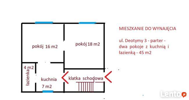 Łagiewniki - dwupokojowe 45 m2