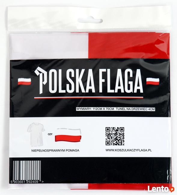Flaga Polski - Flaga Narodowa SPRZEDAŻ HURTOWA