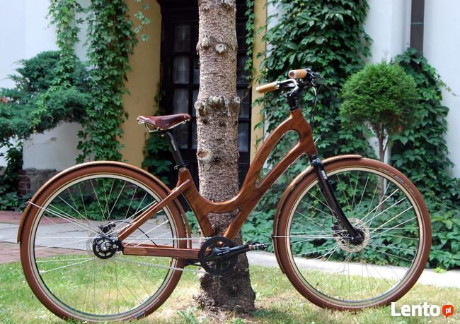 Rowery drewniane - Customy, przeróbki, naprawy.