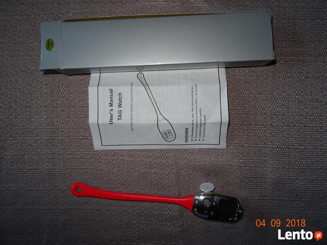 Zegarek lcd dla pielęgniarki_lekarza