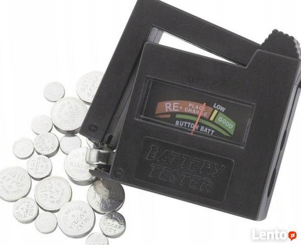 Tester do baterii guzikowych