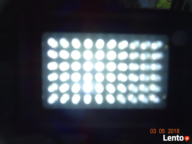 Lampa led diody 60 x 3,6W
