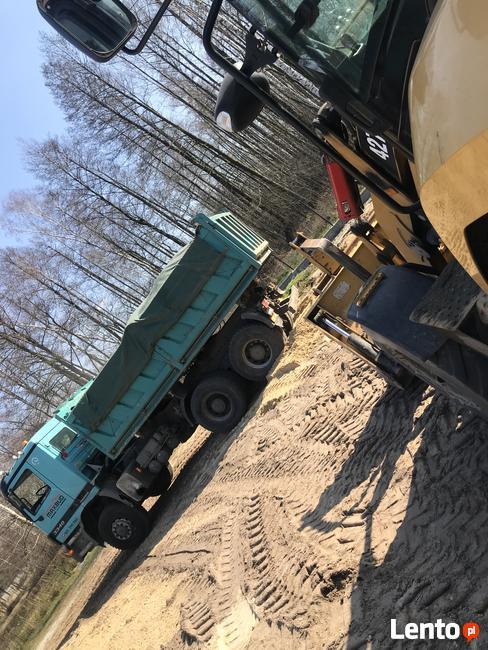 piasek / tłuczeń / ziemia / gruz —sprzedaż i transport