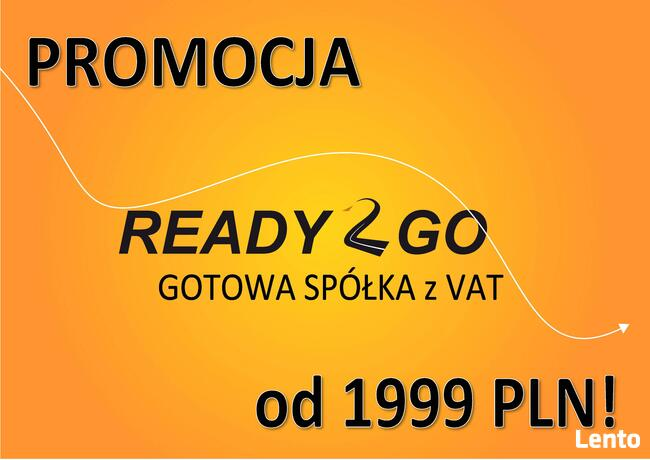 Spółka z GDAŃSKA gotowe spółki z VAT 24H - 1999 zł