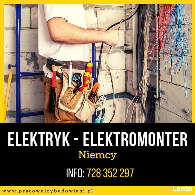 Elektryk - Elektromonter - Niemcy - nowy kontrakt