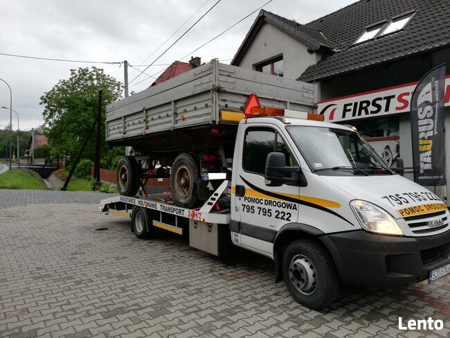 Usługi transportowe AUTOLAWETA Pomoc drogowa