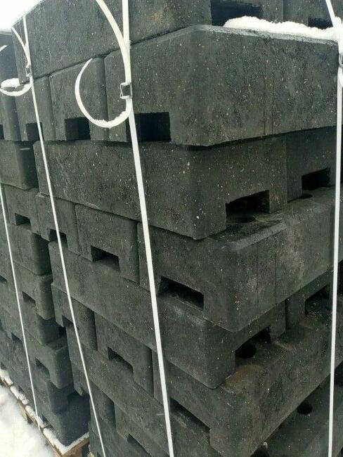 Podstawa stopa PCV do ogrodzeń tymczasowych ogrodzenie