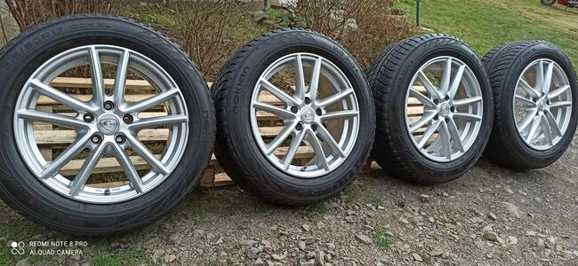 Felgi Koła Aluminiowe 215/60/R17 NOKIAN 7,5mm 5x112 TPMS MER