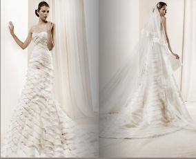 Suknia szyta na wzór La Sposa Dante (Model 2011)