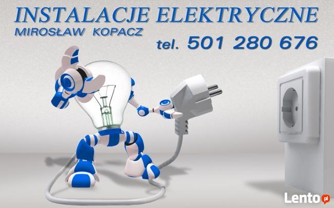 Instalacje Naprawy Elektryczne Częstochowa Mirosław Kopacz