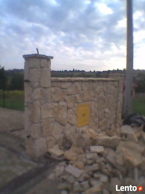 Ogrodzenia z kamienia i klinkieru