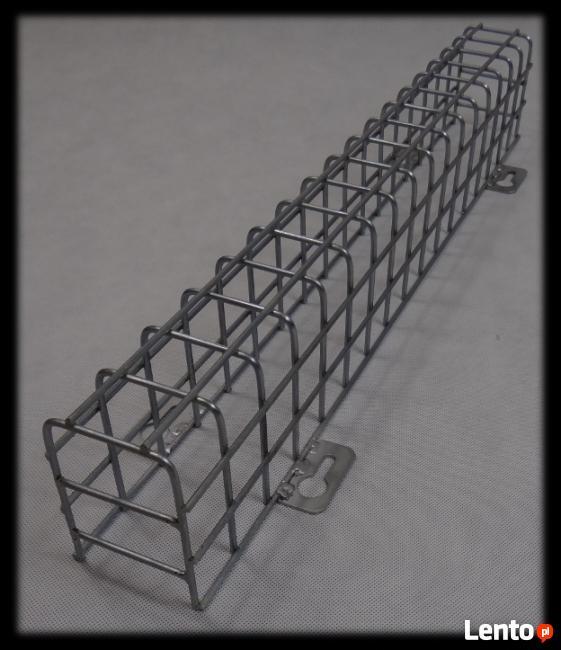 Kratka siatka ochronna lampy oprawy KO118Zn 1x18W - OCYNK