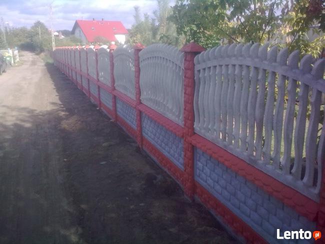 Montaż ogrodzeń- betonowych,metalowych,siatki, wiaty