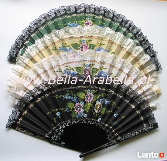oryginalne hiszpańskie wachlarze - bardzo duży wybór wzorów