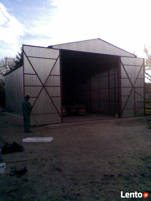 8x25m Hala wiata rolnicza budowlana blaszana Magazyn MEGA