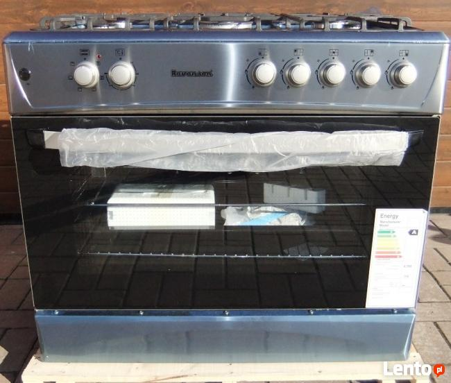 Kuchnia gazowo elektryczna Piec Konwekcyjny 90cm Grill Rożen -> Kuchnia Gazowo Elektryczna Ravanson Opinie
