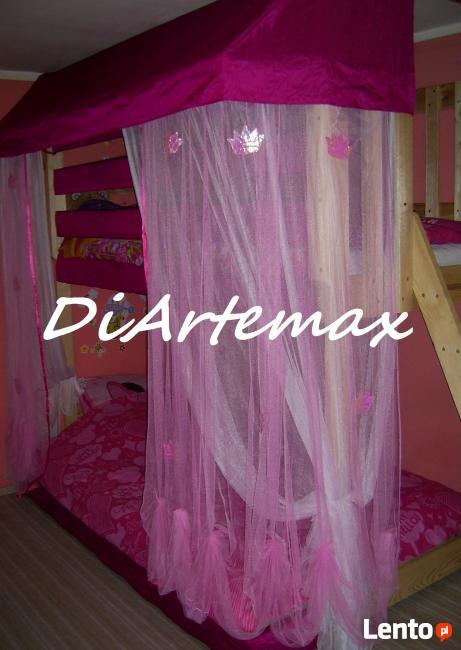 łóżko dziecięce, piętrowe, antresole - DiArtemax