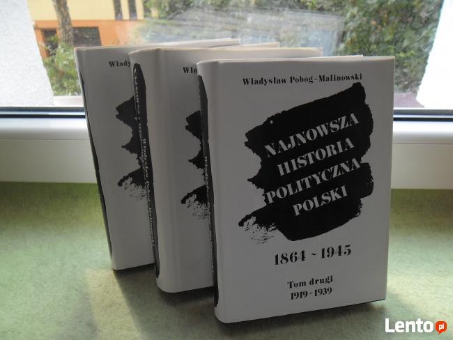 NAJNOWSZA HISTORIA POLITYCZNA POLSKI 3-y tomy
