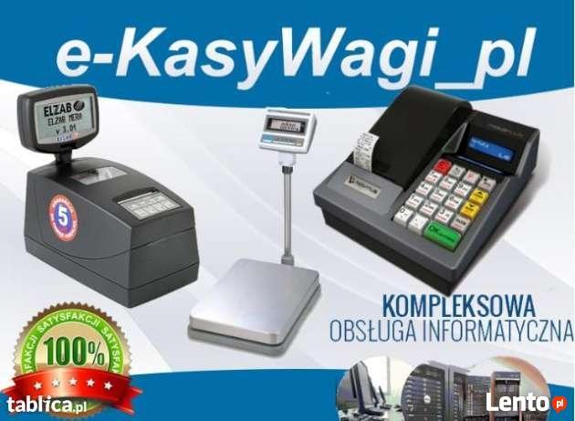 KASY fiskalne WAGI elektroniczna OPROGRAMOWANIE dla firm