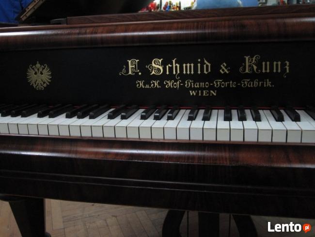 Wiedeński Fortepian F. Schmid & Kunz, długość 165cm
