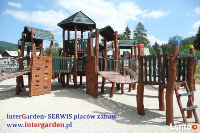 Place zabaw- serwis, naprawa InterGarden 500-514-515