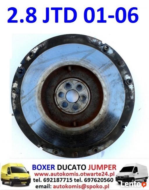 WIENIEC koło zamachowe silnika 2.8 JTD FIAT DUCATO 2001-2006
