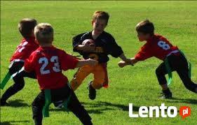 Darmowe treningi w bezkontaktowy futbol amerykański
