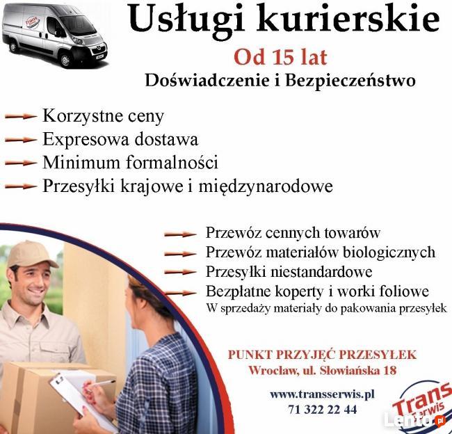 Przesyłki Kurierskie Krajowe i Międzynarodowe Trans Serwis