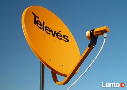 Montaż-serwis-anten satelitarnych Cyfrowy Polsat,NC+WARSZAWA